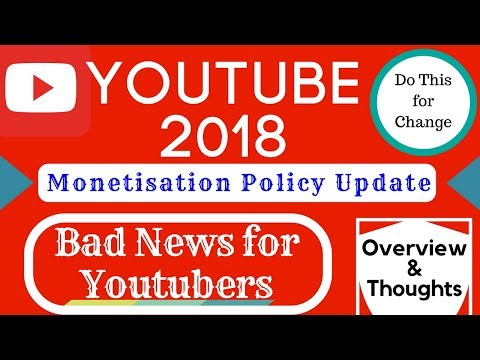Will Your YouTube channel monetize in 2018?🔥Solution👉[SignThisPetition]  YPP Changes👈