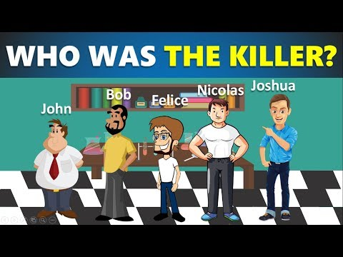3 riddles popular on crime (part 3) - Murder mystery riddles - Who did it? - Can you solve it?