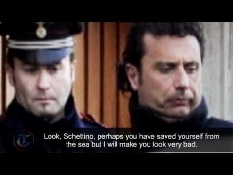 Costa Concordia coast guard tape: Get back on board Captain Schettino!