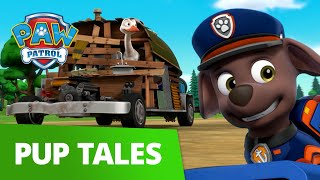 Runaway Junkmobile 😮 Pups Save Oscar the Ostrich! PAW Patrol Pup Tales Rescue Episode!