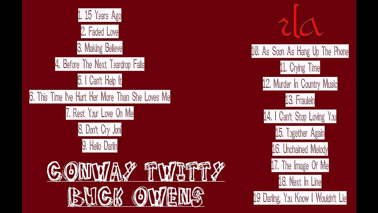 CONWAY TWITTY & BUCK OWENS