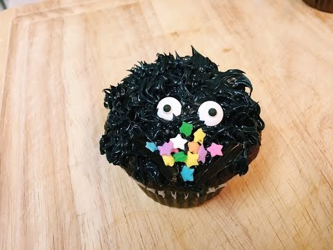 Soot Sprite Cupcakes