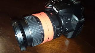 Nikkor Nikon VR 18 to 200mm lens. On a d3400