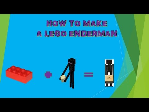 How to make a LEGO Enderman