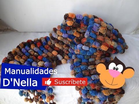 Bufandas:Manualidades para el dia de la Madre-By: