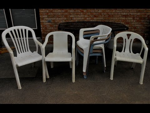 DO NOT!! Throw These Plastic Chairs Away