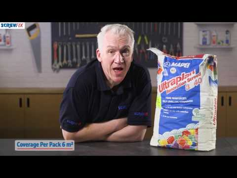 MAPEI ULTRAPLAN 3240 SELF-LEVELLING COMPOUND GREY 25KG | Screwfix