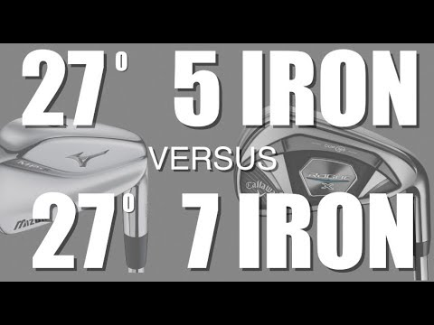 27 degree 5 iron v 27 degree 7 iron - Average Golfer
