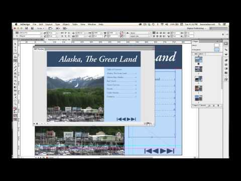 07 Create an Interactive Table of Contents in Adobe InDesign