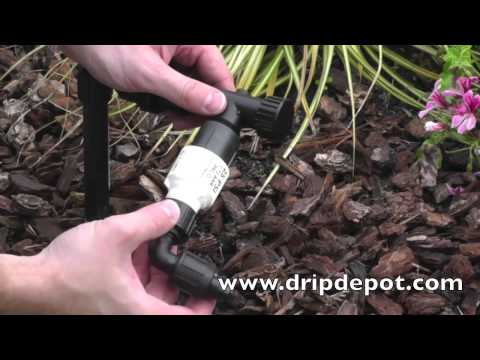 How to Convert a Sprinkler Riser to Drip Irrigation