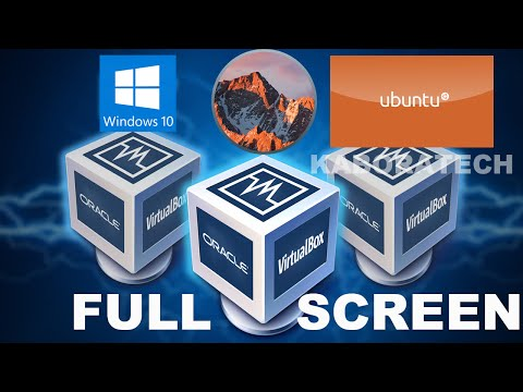 How To Enable Full Screen Resolution in Virtual Box