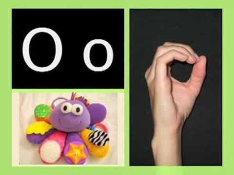 ABC song/ASL alphabet - American version