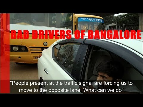 Indian Traffic Jam | Road Rage | Texting and driving | How not to make a Stop