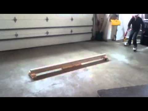 New PVC pipe rail