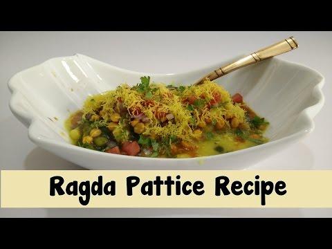 Ragda Pattice Recipe in Hindi By Cooking with Smita - Mumbai Street Food | Ragda Patties