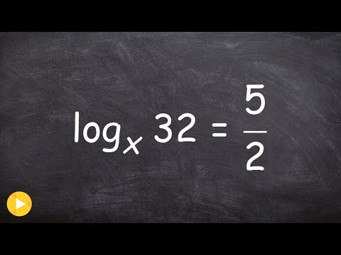 Solving a simple logarithm