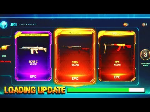 black ops 3 loading new 1.29 update... (new dlc weapons)