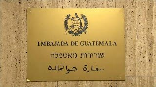 Guatemala to move its embassy to Jerusalem