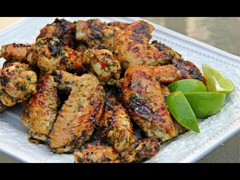 The Ultimate Grilled Chicken Wings - Tasty Tuesday's | CaribbeanPot com
