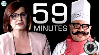 59 Minutes: An Inside Look with Chef La T | Elvis Duran Exclusive