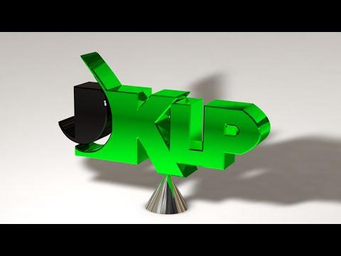 KLP 3D logo rotation