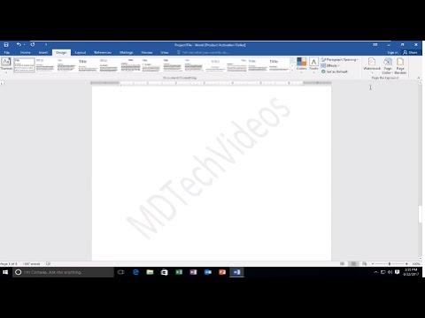 How To Create A Watermark In Microsoft Word [Tutorial]