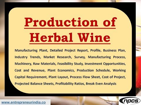 Production of Herbal Wine
