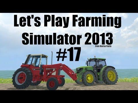 Farming Simulator 2013 Iron Horse E17 dealing with