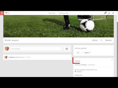Google+ - How To Create A Duplicate Event From Your Own Event