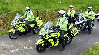 Robin House CHAS - Police Motorcycle Escort to Porsche Event