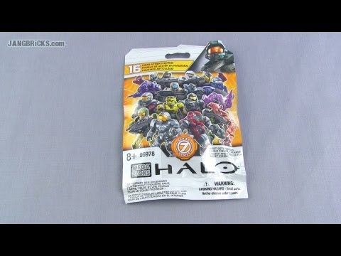 Mega Bloks Halo Series 7 mystery pack - Active Camo FOUND! 7/31/2013