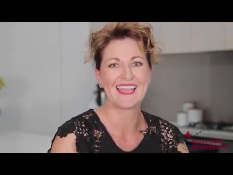 Mum with ceramic braces, Karen's Story, part 1 of 2 family with braces