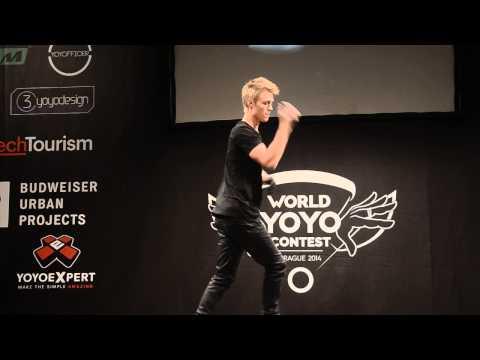 C3yoyodesign Present WYYC2014 1A Champion Gentry Stein
