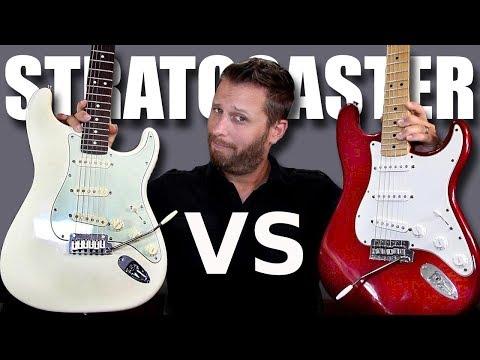 MEXICAN STRAT vs AMERICAN STRAT - Guitar Tone Comparison!