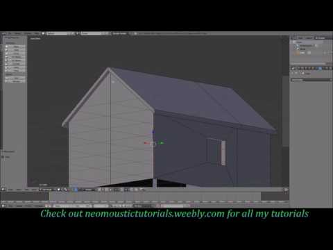 Blender/Unity tutorial: Making a low poly house look high poly