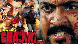 Return Of Ghajini │Latets Hindi Movie │Suriya, Trisha Krishnan