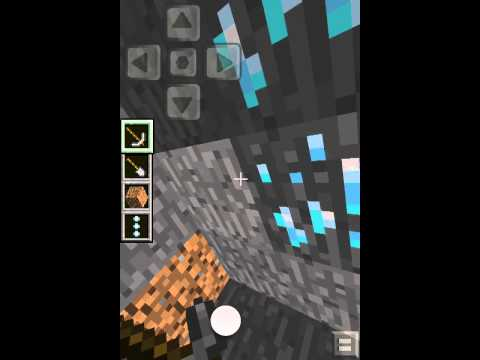 How to find diamond and gold in minecraft PE (seed in description)