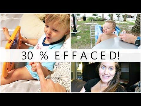 I'm 30% Effaced!