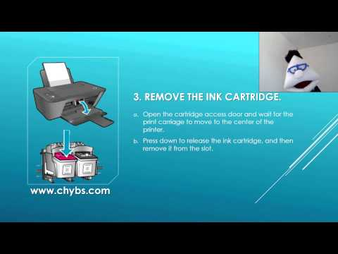 How to replace ink cartridges on HP 1515 printer?