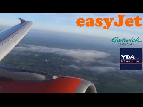 Easyjet Airbus A320 G-EZTR I Gatwick to Dalaman I *Full Flight*