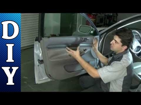 How to Remove and Replace a Door Panel - Audi A4
