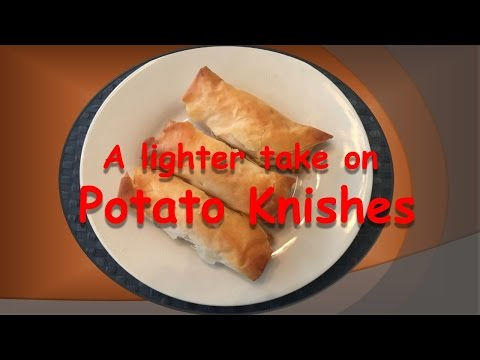 A Lighter Take on Potato Knishes-easy to make appetizer