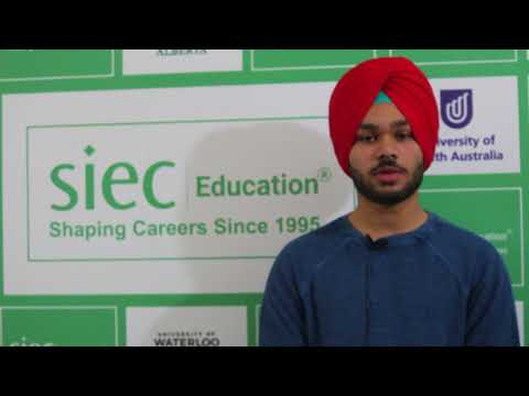 Navjot Singh sharing his experience after getting Study Visa for Canada