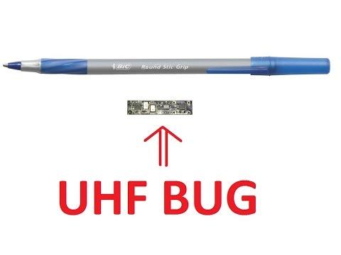 How to build a professional long-range spy UHF transmitter