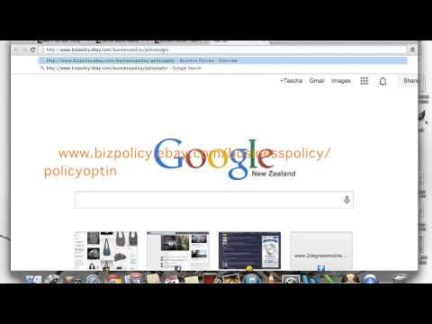 Edit Business Policy eBay