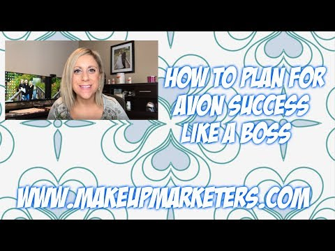 How to Plan for Avon Success Like a Boss