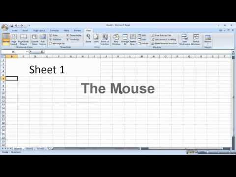 Excel 2007 - Zoom In and Out