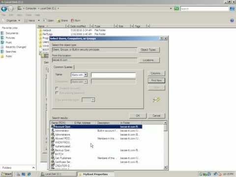 Application Server Configuration