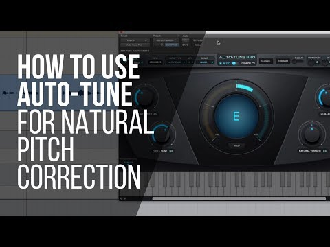 How To Use Auto-Tune For Natural Pitch Correction (or an effect) - RecordingRevolution.com