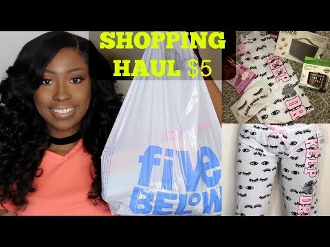 FIVE BELOW DOLLAR STORE HAUL 2017 | Clothes, Electronics + MORE!